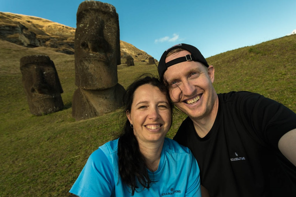 Day 3–Monday, The Many Statues of Easter Island
