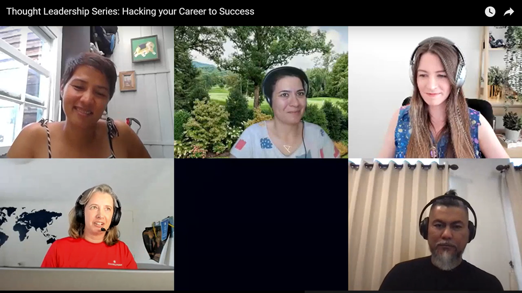 Thought Leadership Series–Hacking Your Career to Success Wrapup